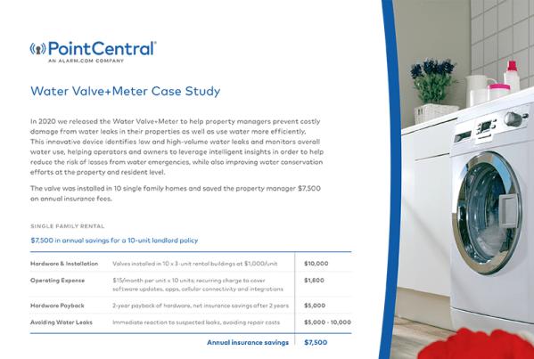 Water Valve+Meter Case Study