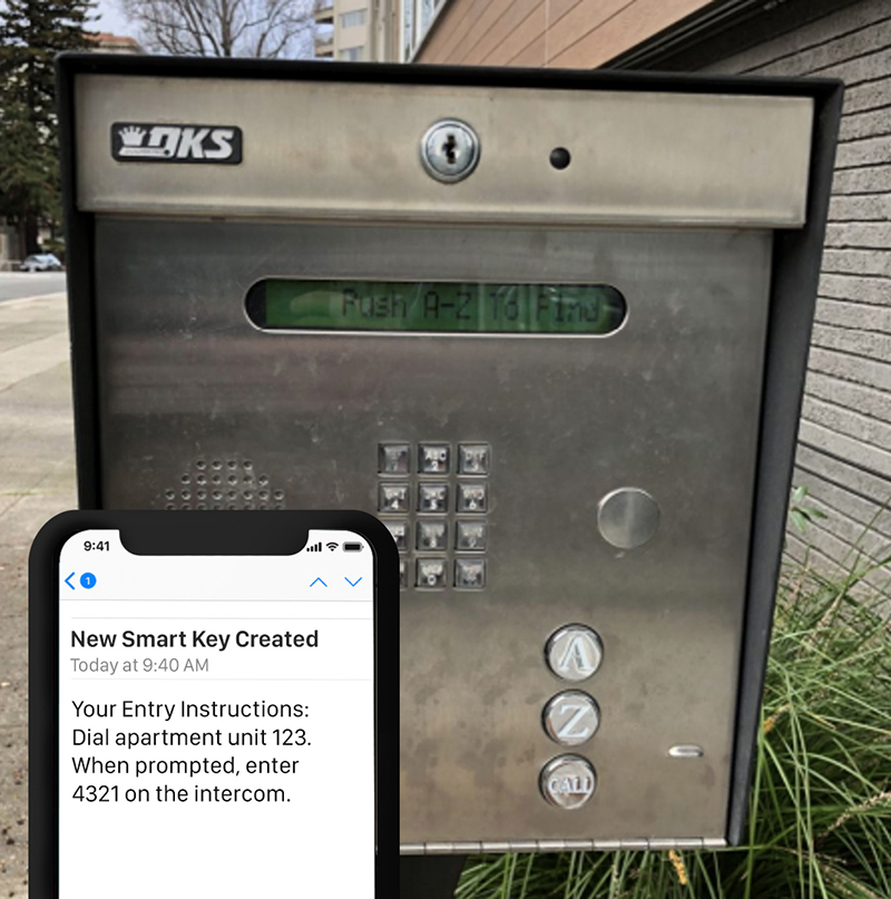 Upgrade your existing telephone-based intercom system into a connected intercom