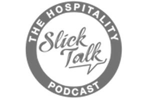 The Hospitality Podcast Slick Talk Logo