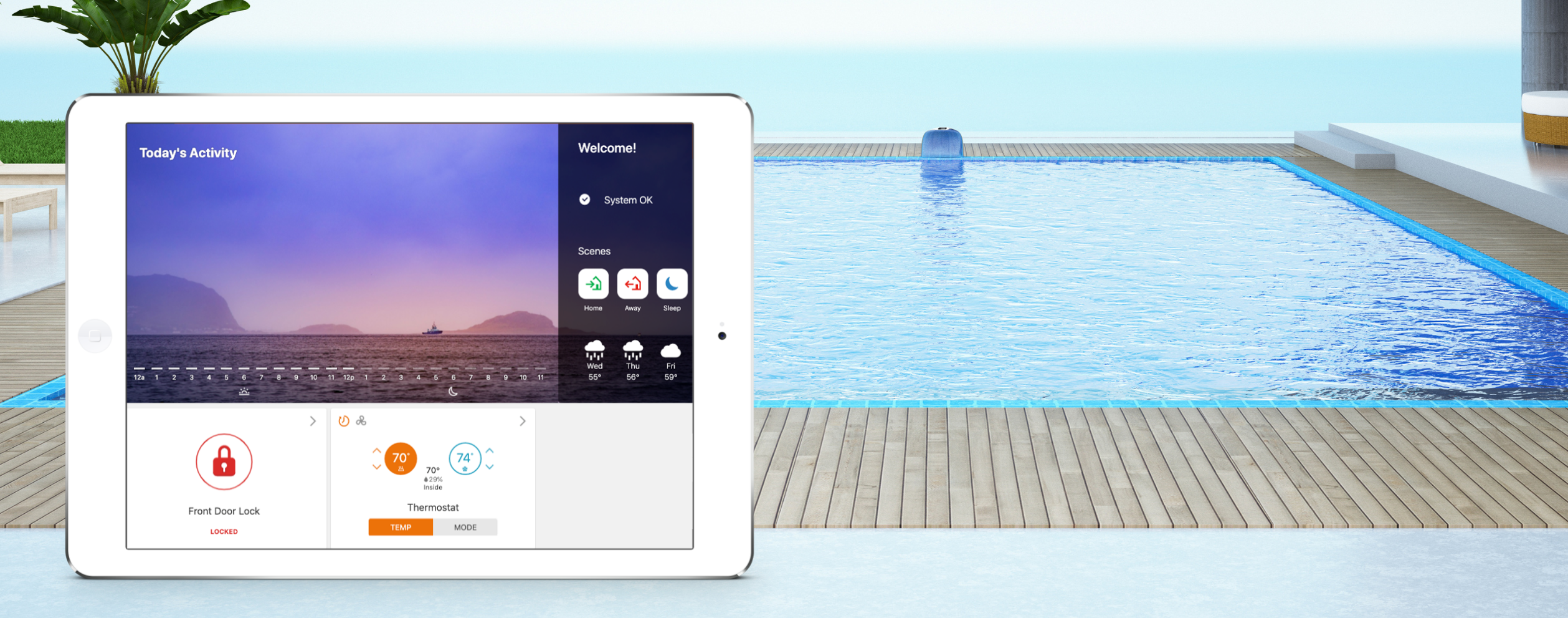 5 reasons why smart pool control is making a splash this summer